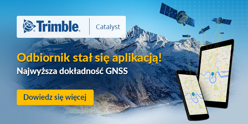 odbiornik gps gnss trimble catalyst